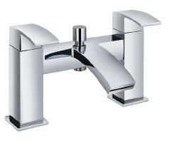 Futuristic bath mixer