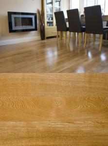 NATURAL OAK LAQUERED